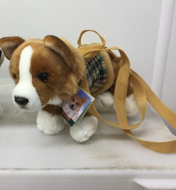 Corgi Soft Toy Bag