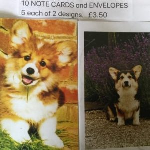 Corgi Notecards